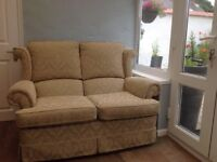 Comfortable Two Seater Cottage Sofa
