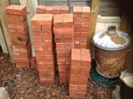 200 Weinerberger new gilt red multi stock bricks