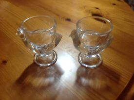 2 egg cups. REDUCED to £2.50 each.