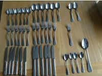 Stainless steel cutlery set from Procook