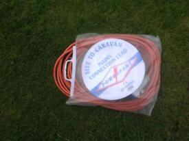 25 Metre electric hook up cable