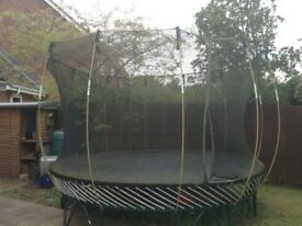 12ft Trampoline with netted sides