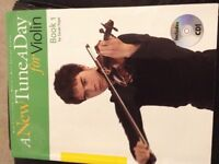 New Tune a day book 1 violin with cd