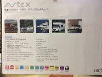 Avtex LED 19inch 12volt/240volt/240volt television - Ideal for motorhome or caravan