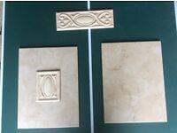 Bathroom wall tiles, shower, ceramic
