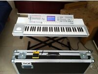 Korg m3 61-keys Workstation Synth Keyboard + Flycase + Korg pedal PS-1