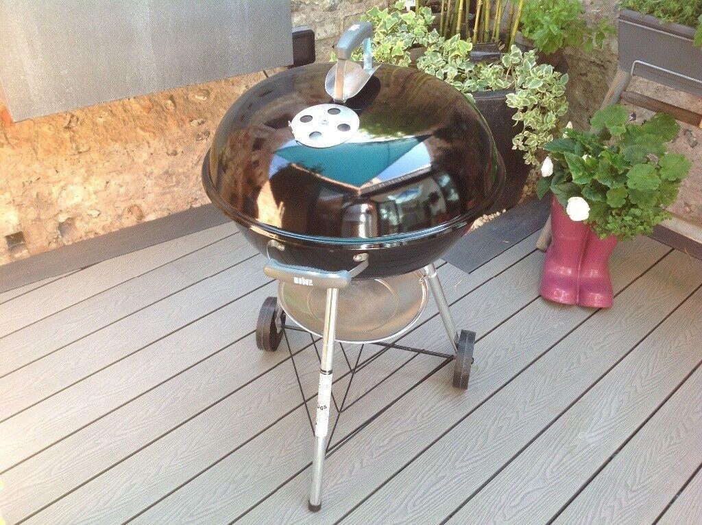 Weber Holzkohlegrill Compact Kettle 57 Cm : Weber 57 cm compact kettle charcoal bbq complete with weber cover