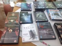 22 horror dvds, includes box set of 3