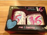 Mug &coaster set