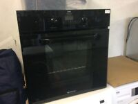 Hotpoint single fan oven. Can be seen working perfect.