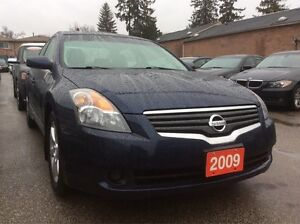 2009 Nissan Altima Low Km 129K Leather Sunroof Push-To-Start