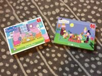 Peppa Pig & Ben and Holly puzzles