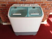 Leisurewise Portable Twin Tub Washing Machine (Never Been Used)