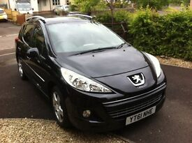 Peugeot 207 SW automatic 61 plate only 31k miles