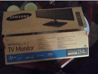 Samsung LED 24 inch TV monitor