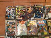 275 MARVEL DC COMICS WOLVERINE SPIDER-MAN HULK CAP AMERICA JLA ROBIN ETC ALL IN GOOD CONDITION