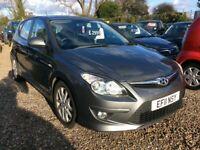 Hyundai, I30, Hatchback, 2011, Manual, 1.4cc 79k FSH @ Aylsham Road Affordable Cars