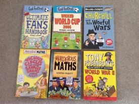 Foul Football, Murderous Maths, Horribly Famous & World War II books