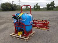 BRAND NEW Biard Mounted Sprayer 400L 12M boom Crop Chemical Horses Weed Killer