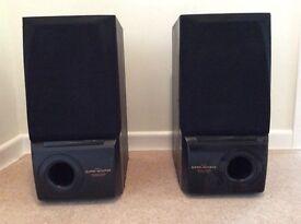 Sony AV speakers. Passive.