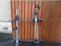 Cycle carriers and roof bars