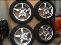 Genuine Honda S2000 Alloys & Tyres mint condition