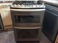 Silver Zanussi All Gas Cooker 60Cm Wide In Excellent Condition Can also Deliver if required.