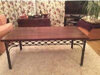 Laura Ashley dark wood furniture. Six pieces for £175.