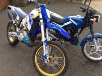 Two motorbikes for sale , 250cc enduro 2 stroke , scrambler , 125cc road bike