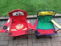 Children's camping chairs Disney cars kids folding chairs