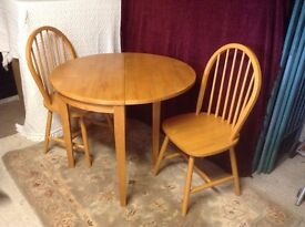 6 dining chairs in maldon essex gumtree for Very small kitchen table sets
