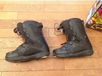 NORTHWAVE FREEDOM SL SNOWBOARD BOOTS-SIZE 9