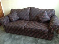 """Double sofa bed - length 80"""" and depth 36"""" (sofa section)"""