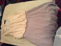 Very pretty floaty chiffon dress by Atmosphere. Size 12.