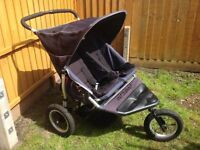 Out n About double buggy pushchair