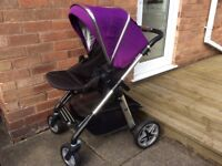 Silver Cross Pioneer Pram with accessories