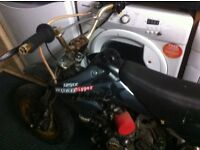Pit bike 125cc road ripper will swap car quad motorbike van scooter ktm cr raptor automatic manual