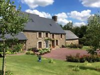 France. 15mins Mont St Michel. Stone House 230m², Land 2900m²/0.7 acre. Sale/Part Exchange