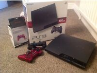 PS3 (160gb),2 Controllers and 6 original games