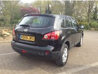 Nissan Qashqai 1.6 petrol 2009 only £5290