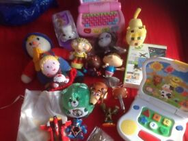 Job lot Mixed toy lot - stocking fillers - new or washed