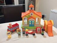 Elc early learning centre happyland pre school set