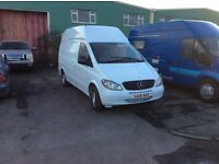 Mercedes vito lwb hight roof rare van in good condion