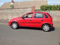 VAUXHALL CORSA LIFE TWINPORT 1.2cc NEW MOT MUST SELL DUE TO NEW CAR