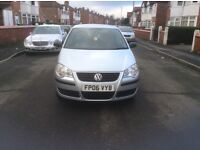 2006 Volkswagen polo 1.2 E 5dr hatchback petrol manual low mileage 47000, miles full history £2195