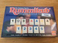 Rummikub Vintage Board Game New and Sealed