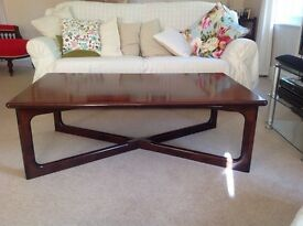 Contemporary Rosewood occasional table