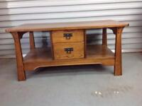 Sherry Legacy Solid Oak Coffee Table