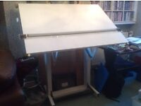 Bieffe 3 parallel motion drawing board & fully adjustable stand.