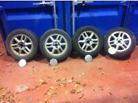 x4 Part Worn Tyres size 185/65R15